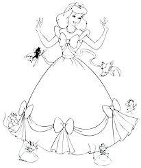 disney princess cinderella colouring pages coloring photos free mermaid