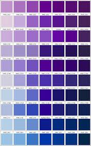 Pantone Color Blue Chart Pms Colors Purple Pantone Colors 5 In 2019 Pantone Color