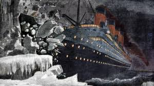 Image result for Sinking of the RMS Titanic