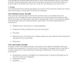 correct format of resumes most professional resume format sapsan us