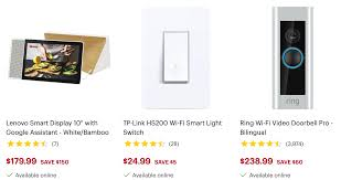 Ring Light Best Buy Canada Best Buy Canada Smart Home Sale On Now Canadian Freebies