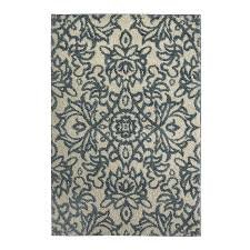 mohawk home spokane abyss blue gray silver indoor inspirational area rug common 8