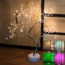Christmas Branch Lights Twig Details About 55cm 108 Led Christmas Birch Tree Lights Twig Branch Night Light Usb Home Decor