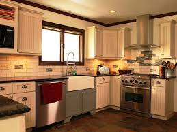 Small Country Kitchen Cabinets L Shaped Lighting Black Country