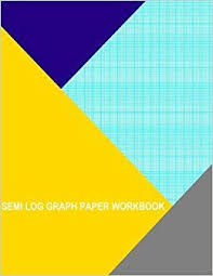 Semi Log Graph Paper Workbook 120 Divisions 5th 10th Accent By 6