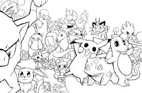 Small Picture Pictures All Pokemon Coloring Pages 34 On Free Coloring Book with