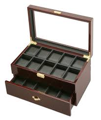 Standing Watch Display Case Watch Boxes Watch Cases Men's Watch Boxes Cases WatchBoxCo 40