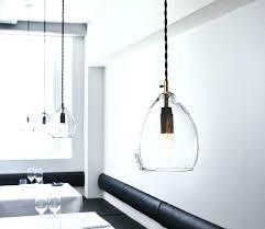 hand blown glass pendant lighting. Hand Blown Glass Pendant Lights Clear Band Pendants With Mouth . Lighting