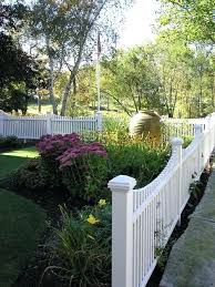 Vinyl picket fence front yard Front Home White Vinyl Garden Fence Design Ideas For Traditional Partial Sun Front Yard Landscaping In Garden Snake Black Sparkome White Vinyl Garden Fence Design Ideas For Traditional Partial Sun