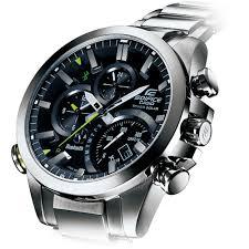 shop men s casio eqb 500d 1aer edifice watch francis gaye men 039 s bluetooth tough solar watch