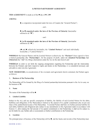 The partnership agreement will usually define the terms of the partnership and how the mars has created a sample template of a limited partnership agreement to help streamline business for investors, founders and their respective legal. Sample Limited Partnership Agreement Template