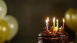 beautiful happy birthday chocolate cake with candles. Contemporary Candles Side View Of Amazing Brunette With Chocolate Cake During Celebration  Birthday Girl Makes A Wish And Blows Out Colorful Candles Throughout Beautiful Happy With Candles O
