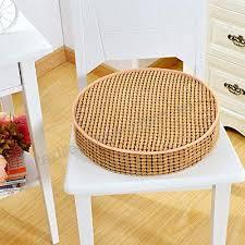 yoillione round outdoor chair cushions