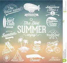 Retro Holidays Retro Elements For Summer Calligraphic Designs Vintage Ornaments