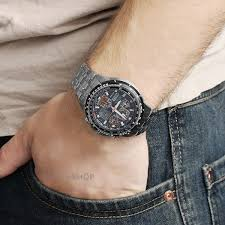 men s citizen skyhawk at titanium alarm chronograph radio nearest click collect stores