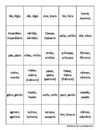 Latin 3rd Conjugation Chart Grasping For Straws A Latin 3rd Declension Gender Game