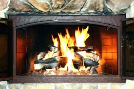 ventless propane fireplace safe logs smell are