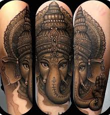 Ganesh Tattoos The God Of Wisdom Tattoo Life