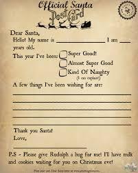 Write To Santa The Easy Way Printable Letter To Santa Jet
