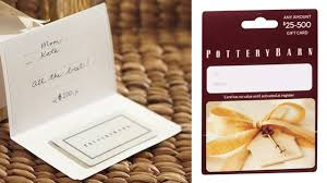 free pottery barn s gift card