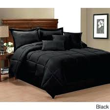 white queen size comforters 8 solid black bedding set royal tradition solids for contemporary red and