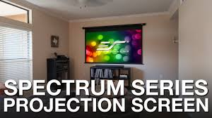 best motorized projector screens 2019 size price compared