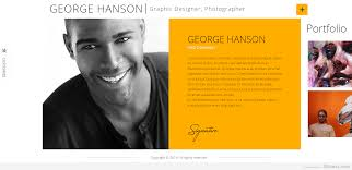 Online Portfolio Resume | Gogood.me