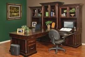 desk home office. white house executive peninsula desk - home office