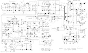td pc power supply jeelabs Pc Power Cord Wiring Diagram looking at the number of transformers, this supply is probably similar the basic idea is simple generate a high frequency ac signal, pc power supply circuit diagram