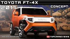 2017 Toyota FT-4X Concept Review Rendered Price Specs Release Date ...