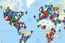 Complete Map Of Marriott Rewards Hotels