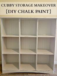 laminate furniture makeover. Cubby Storage Makeover {DIY Chalk Paint} Laminate Furniture R