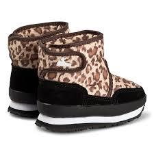 Rubber Duck Snowjogger Boots Leopard Print Babyshop Com