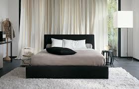 glamorous black white bedroom decor ideas with black