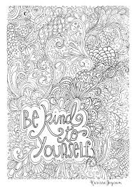Just download one, open it in any pdf viewer and print. 12 Inspiring Quote Coloring Pages For Adults Be Kind Scheduled Via Http Www Tailwi Quote Coloring Pages Coloring Pages Inspirational Family Coloring Pages