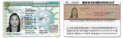 You are currently the principal applicant's spouse or child; Green Card Sameday Passport Visa