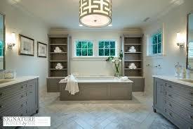 built in bathtub gray wainscoted bathtub flanked by tall gray built in shelves bathtub built in built in bathtub