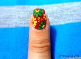Easy Abstract Design Nail Art | artXplorez