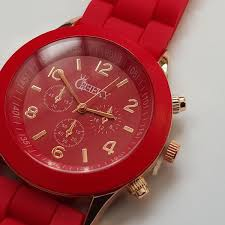 watches men s ladies designer watches uk delivery stylish mens red silicone w rose gold fashion watch by cheeky he 13