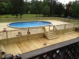 above ground pool decks. Pool-Decks-3 Above Ground Pool Decks