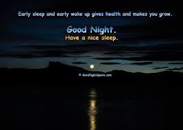 Cute Inspirational Good Night Quotes Good Night Quotes Images Amazing QuoteCom