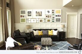 15 Living Room Wall Decor For Added Interior Beauty  Home Design Wall Picture Frames For Living Room