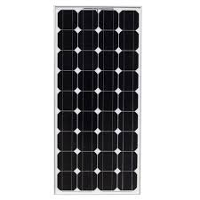 100 watt 12 volt monocrystalline photovoltaic pv solar panel 12v battery charging