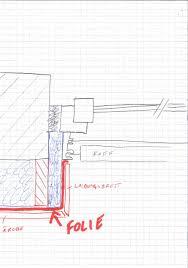 Anschluss Fassadenbahn An Fenster Fensterforum Auf Energiesparhausat
