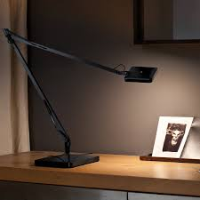 Flos Kelvin Led Base Table Lamp Green Mode Anthracite