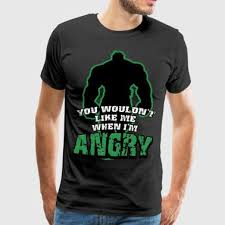 Hulk Quotes Magnificent Shop Hulk Quotes TShirts Online Spreadshirt