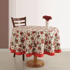 90 inch round tablecloth for decorate your tables fl 90 inch round tablecloth with wooden