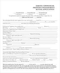 Renters Application Template 17 Printable Rental Application Templates Free Premium Templates
