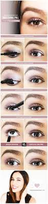 makeup tips to make you look younger flare your lashes look 10 years younger