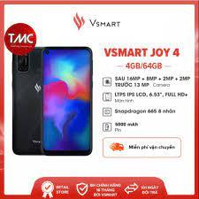 Điện thoại Vsmart Joy 4 (4GB+64GB) - Hàng chính hãng - Điện Thoại - Máy  Tính Bảng